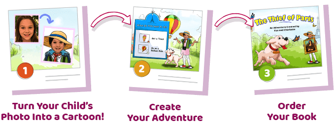 Get Charlottized! Create Your Adventure Order Your Book